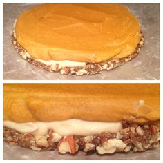 Raw pumpkin cheesecake #glutenfree #raw #vegan