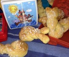 Recipe Schwaebische Flachswickel  Thermomix Rezept Snacks by krautermix - Recipe of category Breads & rolls