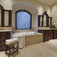 Traditional Spaces Master Bathroom