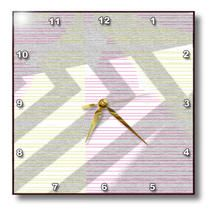 3dRose - Jos Fauxtographee Designs - Gray design with white in a grainy texture - Wall Clocks