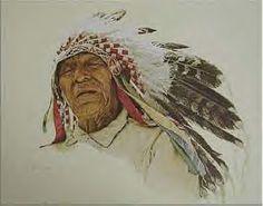 A Crow Indian - James Bama