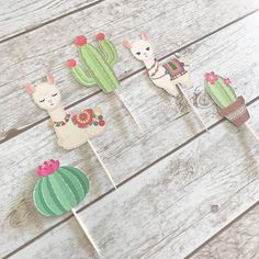 Your place to buy and sell all things handmade 2nd Birthday Parties, Birthday Party Decorations, Baby Shower Decorations, Work Baby Showers, Decoration Creche, Alpacas, Llama Birthday, Cupcake Party, Christmas Birthday