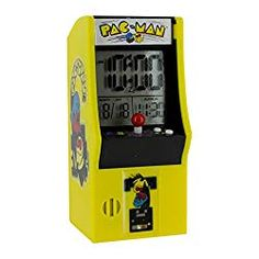 7b710e5229 Pac Man Arcade Alarm Clock