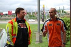 Japie Lubbe and Nick Benn at Harley-Davidson Big Five #Ride4Health #SnorswithaCause
