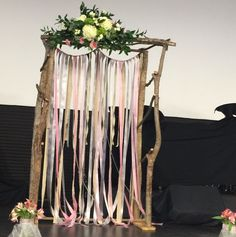 Ceremony Arch. Wedding of Catlin and Harrison Beam. March 14, 2015