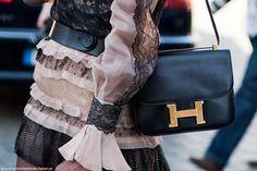 little black #bag :: Constance by #Hermes