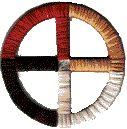 Another key feature of the Native American spiritual outlook is found in the powers ascribed to the Four Directions, which occur either literally or in symbolic form throughout the stories. These are often represented by particular colours, or by animals.    The Four Directions have to be in balance for all to be well with the world, and often a central point of balance is identified as a fifth direction; for example, four brothers represent the outer directions, and their sister the centre.