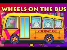 Wheels On The Bus | Fun Nursery Rhymes for Children - YouTube