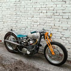 "Kawasaki Z400 Bobber ""Pop"" by BR Moto #motorcycles #bobber #motos | caferacerpasion.com"