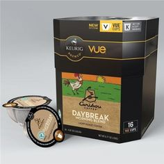 16 Count Caribou Daybreak Morning Blend Vue Cup Coffee For Keurig Vue Brewers ** See this great product. (This is an affiliate link and I receive a commission for the sales) Coffee Pods, Coffee Beans, Keurig Vue, Caribou Coffee, French Coffee, Coffee Accessories, Coffee Tasting, Coffee Machine, Hot Coffee