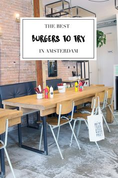 Time for some burgers in Amsterdam! Check out our list on http://www.yourlittleblackbook.me with the 28 best burgers to try in Amsterdam. Enjoy!