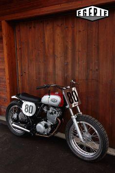 Yamaha XT600Z Ténéré préparée FLATTRACK - EGERIE MOTO