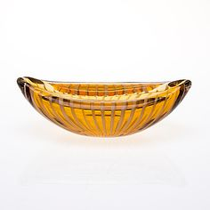 NANNY STILL - Glass bowl for Riihimäen Lasi Oy, Finland. [16 cm] Glass Design, Design Art, Vases, Bukowski, Be Still, Finland, Modern Contemporary, Decorative Bowls, Glass Art
