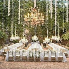 Beautiful event arrangement