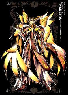 Thanatos, deus da morte.
