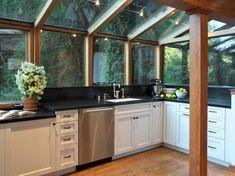 Image result for sun room kitchen design