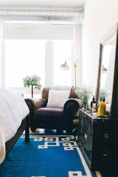 Surya Greek Key rug