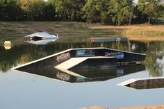 Wake Zone Cable Wakeboard Park in OKC!