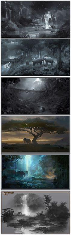 Elephant Storylinco collected CG concept set [Concept] (216 Figure) _ petal illustration / comic via cgpin.com