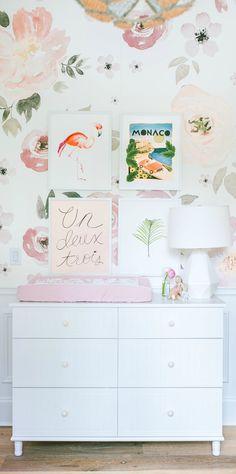 35 Ideas For Baby Girl Nursery Ikea Ikea Nursery, Nursery Room, Nursery Decor, Nursery Ideas, Project Nursery, Baby Bedroom, Kids Bedroom, Bedroom Wall, Bedroom Ideas