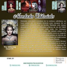 """La Corte Reluciente"" (The Glittering Court #1) de Richelle Mead"