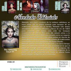 """La Corte Reluciente"" (The Glittering Court #1) de Richelle Mead"