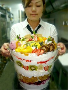 The Crazy Parfait (YUMMY! YUMMY! @ Yamanashi prefecture in JPN)