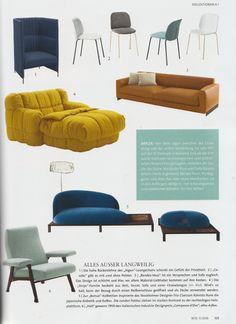 arflex - Wohn!Design magazine choose the arflex products - #arflex #wohndesign #magazine #theoriginaldesign #arflexhome #staytuned http://www.arflex.it follow us on instagram and snapchat @arflex_official