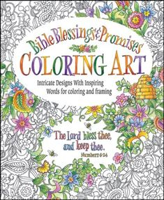 Bible Blessings & Promises, Coloring Book for Adults -