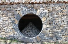 Moon gate by Andy Goldsworthy.