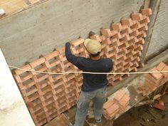 building bricks vertical garden design 4
