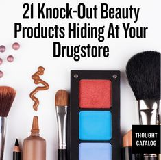 Sweet tips for finding cheap (but awesome) beauty products at the drugstore. Makeup tutorials you can find here: http://crazymakeupideas.com/tips-for-summer-makeup/