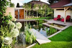 Praha-Lužiny, zahrada se saunou pro otužilce | Atelier Flera