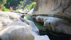 Gods Bath: Cliff jumping, waterfalls, snorkeling and sunbathing, in Sonora, CA