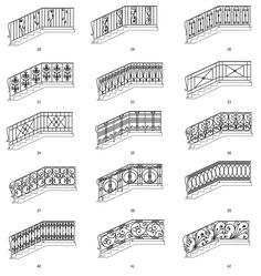 Staircase Interior Design, Staircase Railing Design, Metal Stair Railing, Grill Gate Design, Balcony Grill Design, Balcony Railing Design, House Front Design, Door Design, Balustrades