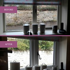 Take a look at our new kitchen window. Not much has changed which is what we wanted! Karen