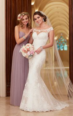 2016 Chic Beach Wedding Dresses_Stella York Style 6118