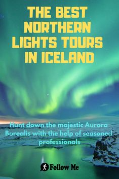 The Northern Lights are truly an amazing sight to behold. But in Reykjavik, the lights of the city diminish them quite a bit. So taking a little trip outside the city can be a great thing to do, if you want to see the amazing Northern Lights. Iceland Northern Lights Tour, Reykjavik Northern Lights, Northern Lights Hotel, Northern Lights Viewing, Tours In Iceland, See The Northern Lights, Alaska Travel, Iceland Travel, Reykjavik Iceland