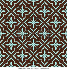 stock vector : Ornamental seamless pattern. Vector abstract background.