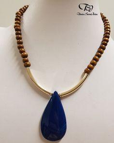 Chunky Jewelry, Wire Jewelry, Boho Jewelry, Jewelry Crafts, Jewelry Art, Beaded Jewelry, Jewelery, Jewelry Necklaces, Handmade Jewelry
