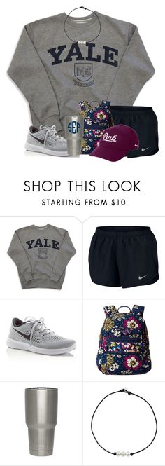 """""""Comfy"""" by wander-krn ❤ liked on Polyvore featuring NIKE, Vera Bradley and Victoria's Secret"""