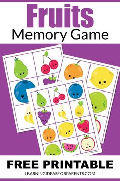 Memory Games For Kids, Printer Paper, Face Down, Matching Games, Educational Activities, Book Lists, Free Games, Your Child, Free Printables