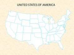 United States, The Unit, America, Map, Location Map, Maps, Usa