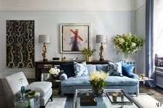 Inside Carole Radziwill's Redecorated New York City Apartment Photos | Architectural Digest