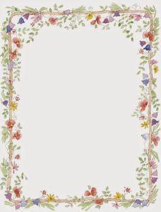 Imprimolandia: Papel de cartas decorado