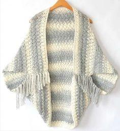 Scarfie Yarn Patterns Crochet Light Frost Easy Blanket Sweater Crochet Pattern Mama In A Stitch Crochet Cocoon, Crochet Shawl, Knit Crochet, Crochet Shrugs, Crochet Stitches, Blanket Crochet, Crochet Cardigan, Shrug Knitting Pattern, Knitting Patterns Free