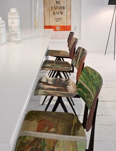 i am in love with these chairs. how would I make them I wonder...