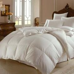 a giant comfy bed
