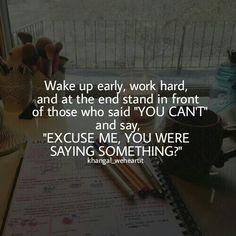 Khangal_weheartit shared by KhanGal_WeHeartIt - Studying Motivation Exam Motivation, Study Motivation Quotes, Study Quotes, Wisdom Quotes, Motivation Inspiration, Life Quotes, College Motivation, Study Inspiration, Positive Quotes