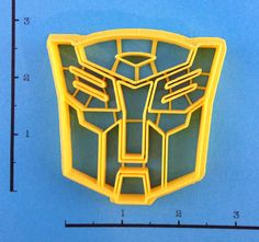 Transformers Autobot Cookie Cutter by WarpZone on Etsy, $5.50